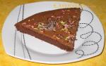 Photo d une part de gâteau Moelleux au chocolat